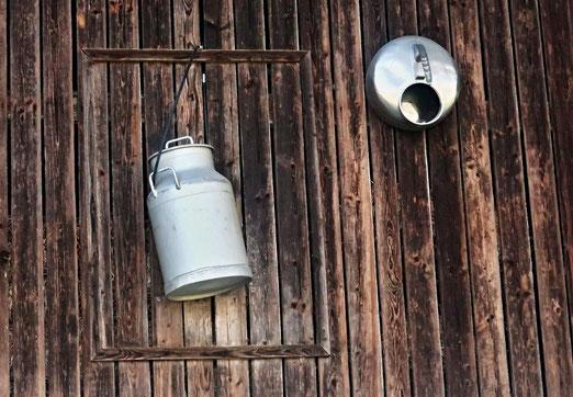 14. April 2020 - Da hat ein Bauer die Milchwirtschaft an den Nagel gehängt
