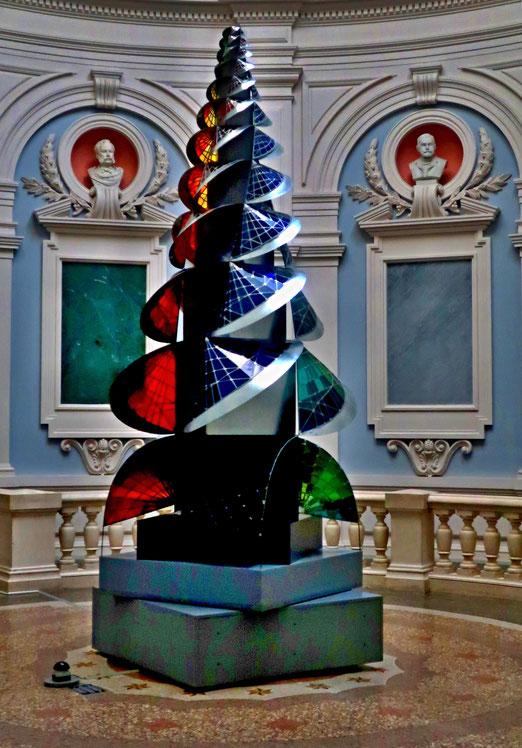 """29. Januar 2020 -  Gesetze der Farbe beim """"Turm des Feuers"""" von Johannes Itten (1921, Rekonstruktion im Kunsthaus Bern)"""