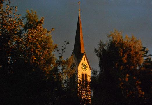 27. August 2021 - Als wäre der Heilige Geist in der Kirche eingekehrt