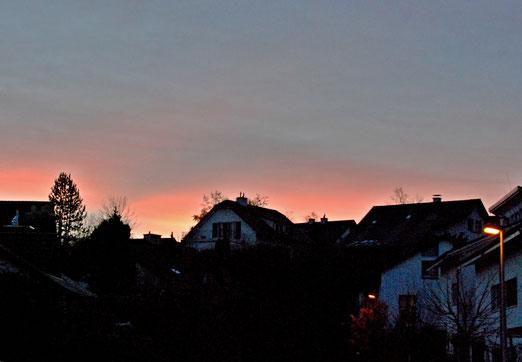 21. Dezember 2020 - Da hat die Morgenstund noch Gold im Mund