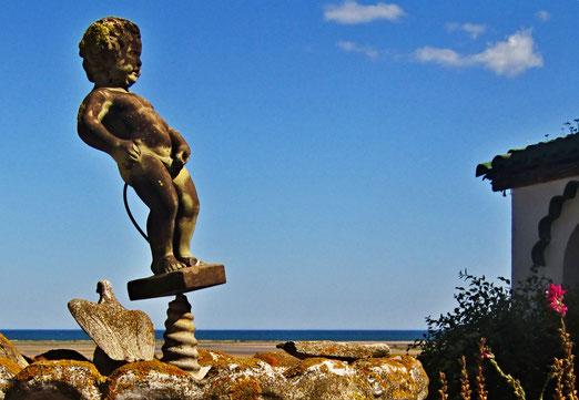 10. Juli 2021 - Manneken Pis am Mittelmeer