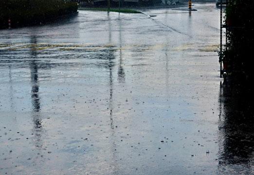 29. August 2020 - Nach der Sonne prasselt der Regen
