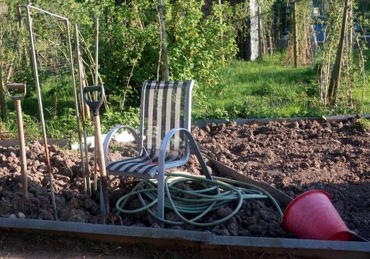 23. April 2020 - Garten im Umbruch