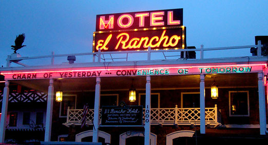 Gallup - Uebernachtung im Motel El Rancho (Charm of Yesterday)