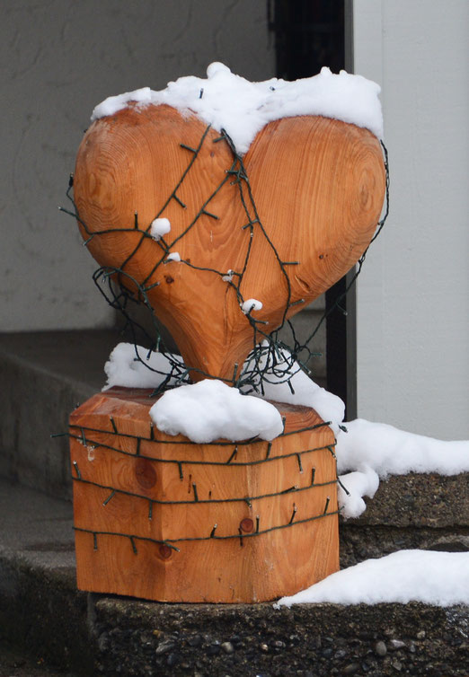 """14. Januar 2019 - Wie ein leuchtendes Herz wird zum """"gefrorenen Herzen"""" wird"""