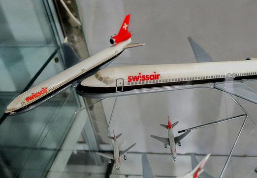 16. November 2019 - Swissair noch immer unterwegs - im Spielmuseum in Pézenas (Frankreich)