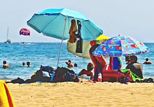 11. Juli 2021 - Strandleben