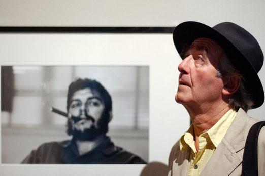 Bild: Rene Burri/Magnum mit seinem wohl berühmtesten Porträt von Che Guevara
