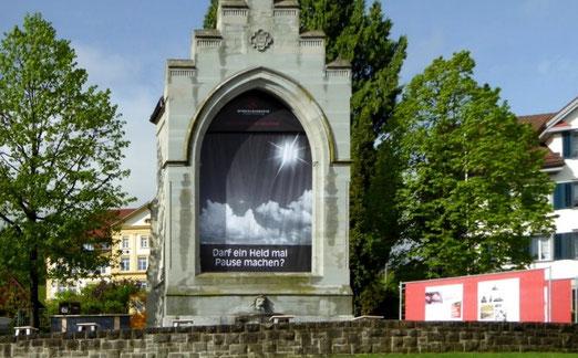 Winkelried  Denkmal in Stans (Gastbild von Bruno Wigger, Stans)