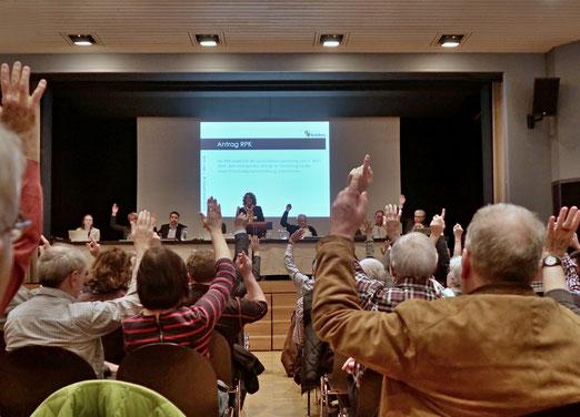 08. März 2018 - Gemeindeversammlung: Basisdemokratie