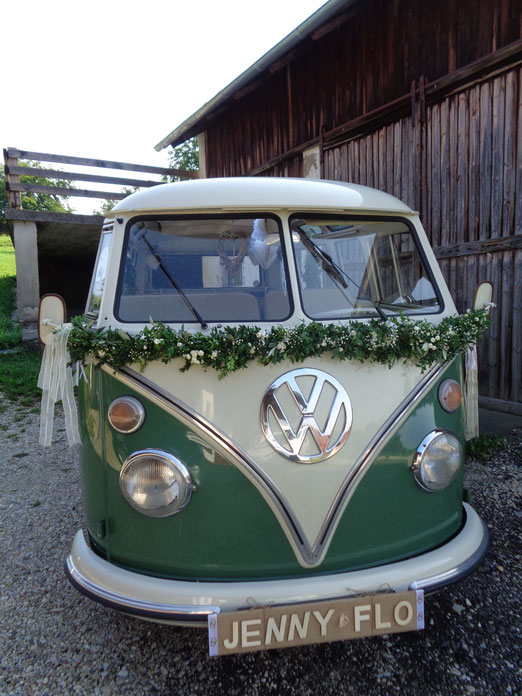 VW Oldtimer Bus --Bulli