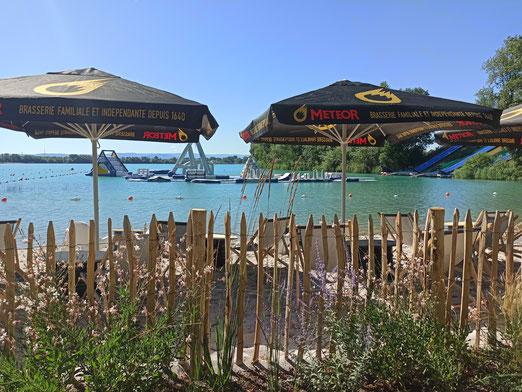 Snack Lauterbourg plan d'eau Bas-Rhin Café de plage