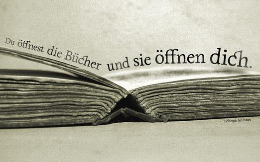 Bücher sind mehr als nur Papier