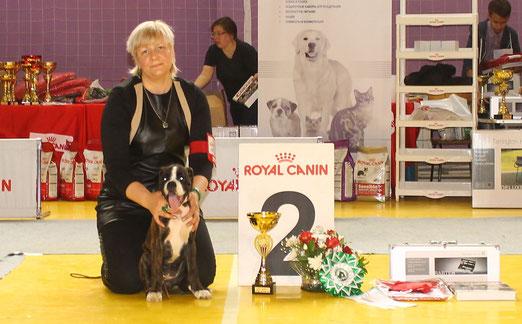 БЕСТ БЕБИ 2 место на выставке собак 7 июня 2015