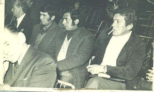 Congreso Remolachero en Santiago. Representantes de Linares, 1975