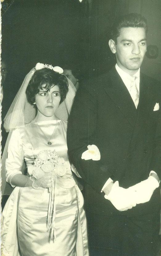 Gladys y Daniel, Iglesia Salesianos, 1946