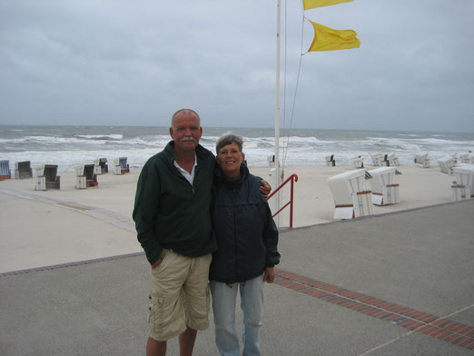 Elke und Erich Ries auf ihrer Insel (2014)