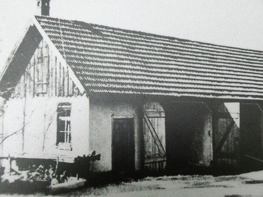 Gedenkstätte Grafeneck, hier das Gebäude, in dem sich die Gaskammer befand (Schaude, 2013)
