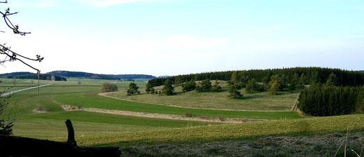 Albhochfläche auf dem Großen Heuberg, Foto: Wildfeuer, Lizenz: Creative Commons Attribution-Share Alike 3.0 Unported