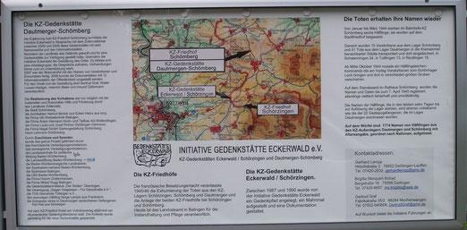 Tafel bei der KZ Gedenkstätte Dautmergen-Schömberg, aus: www.alemannia-judaica.de
