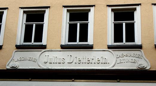 Die Flaschnerei Dietterlein in der Reutlinger Innenstadt. Foto: A.Schaude, 2014