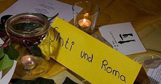 Erinnerung an die Nürtinger Opfer des Porajmos und der Verfolgung, gestaltet von Schülerinnen des Max-Planck-Gymnasiums Nürtingen, Foto: Manuel Werner