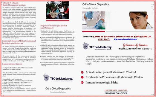 Requerimientos técnicos para este Diplomado en Inmunohematología