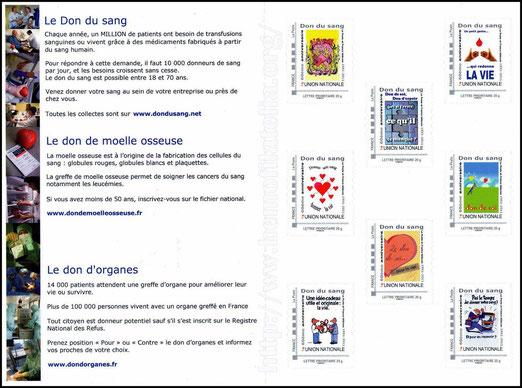 Se agradece al Prof. Dr. Alain BEAUPLET, la donación de estas Novedades Filatélicas, Buenos Aires, 14-06-2011.