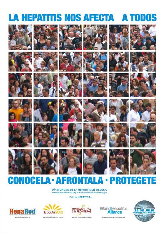 28 de Julio: Día Mundial de Lucha y concientización contra las HEPATITIS.