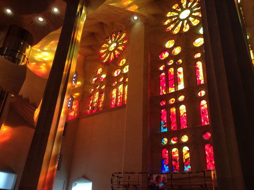Sagrada Familia - April 2015, Foto: Anja Ollmert