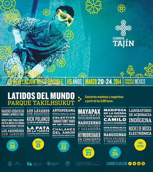 Cumbre Tajin 2014