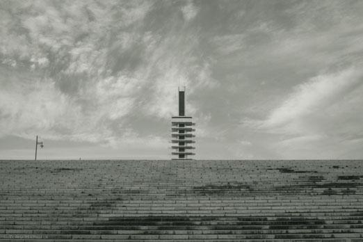 駒沢公園のオリンピック記念塔