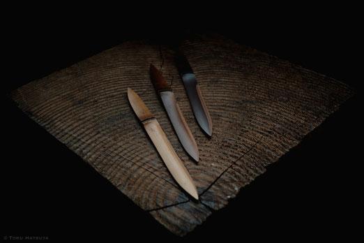 煤竹菓子切り「ささのは」は2019年も定番として削ります