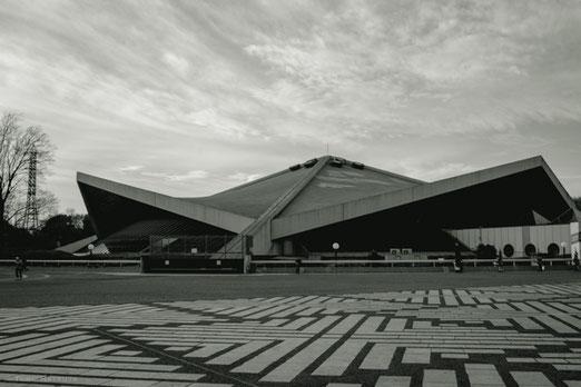 駒沢オリンピック公園の体育館