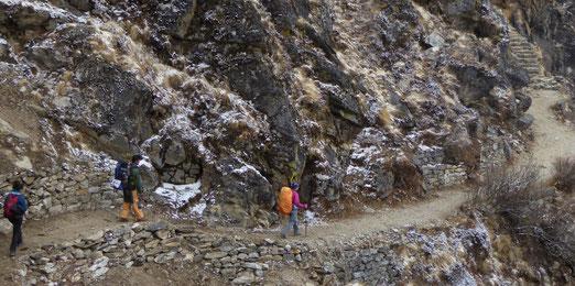 wandelen Nepal Gokyo
