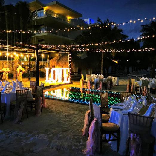 Animacion para tu boda em Cancún