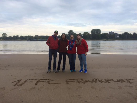 FFC Fans am Rhein in Köln