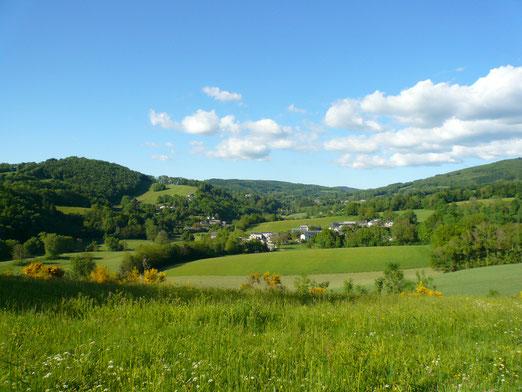 le paysage du Tarn