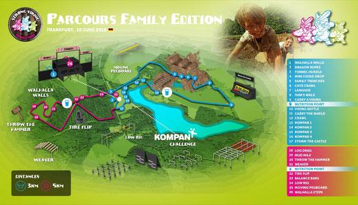 Streckenverlauf Family Edition