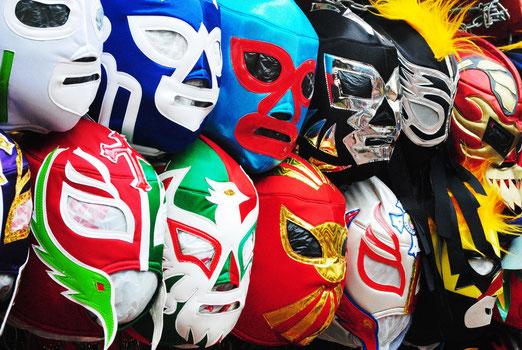 Fiesta temática lucha libre show