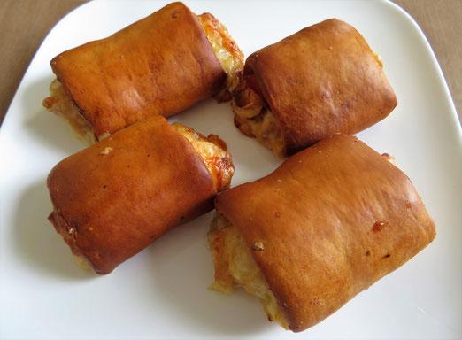 Ham-kaas broodjes