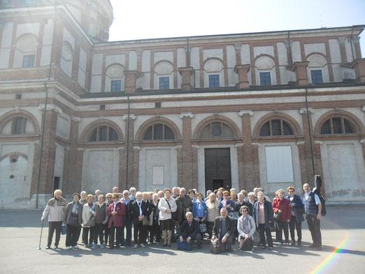 30 marzo 2017 Pellegrinaggio al Caravaggio con gli Amici della Terza Età