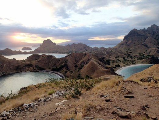Padar and 3 sandy Bays, Komodo