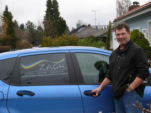 Fa. Zach Heizungsbau - Geldspende