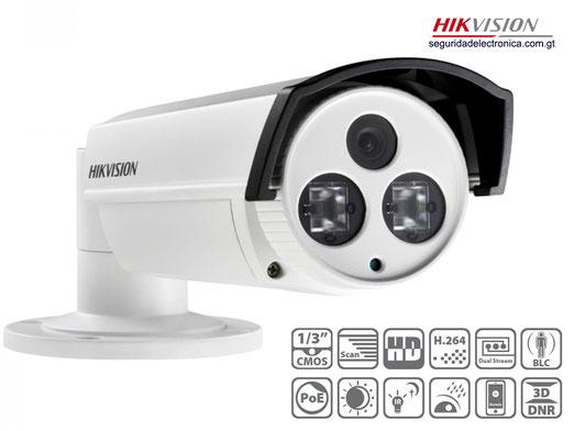 camara de seguridad ip 2 led exir hikvision 2CD2212-I5 Guatemala