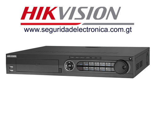 nvr's 32 canales hikvision 7716NI-E4/16P