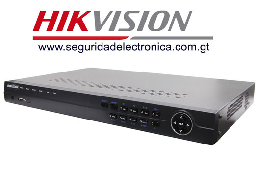 nvr's 16 canales hikvision 7616NI-ST