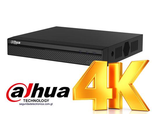 NVR 4K 8 canales dahua