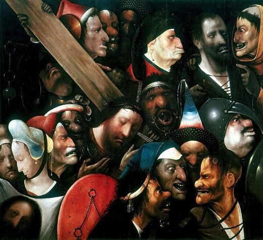 Christus trägt sein Kreuz