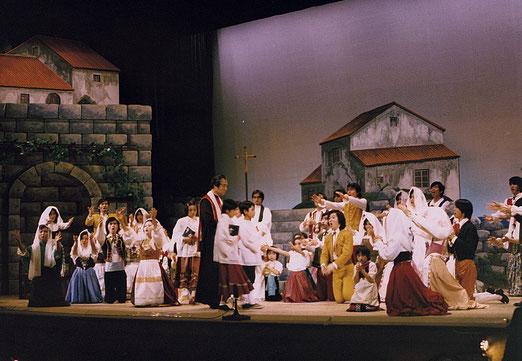 昭和51年公演「カヴァレリア・ルスティカーナ」より
